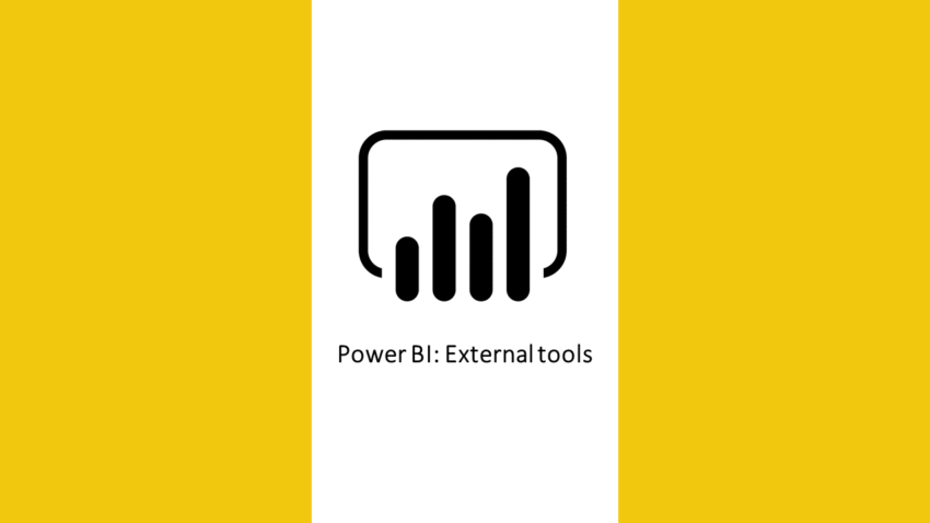 Power BI external tools